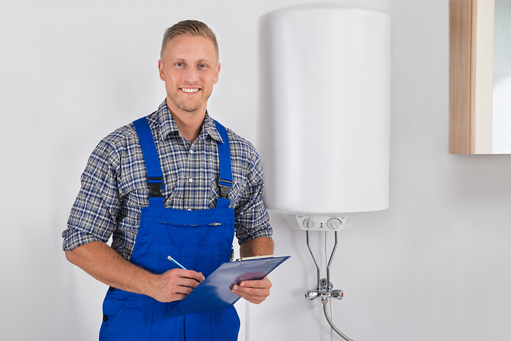 24-hour water heater service in Katy, TX